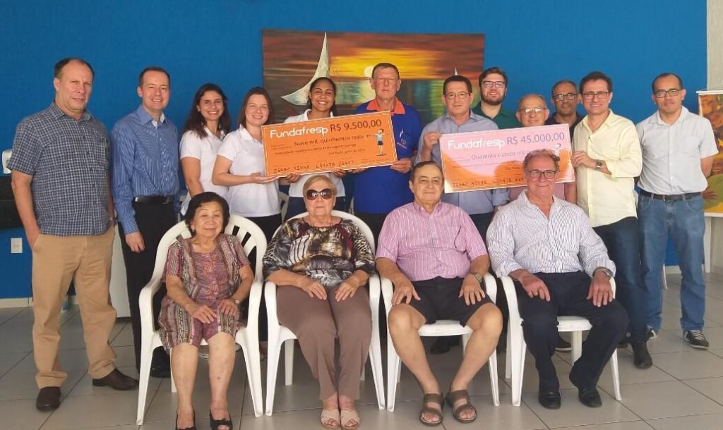 Associcações de Araçatuba recebem premios do Fundafresp